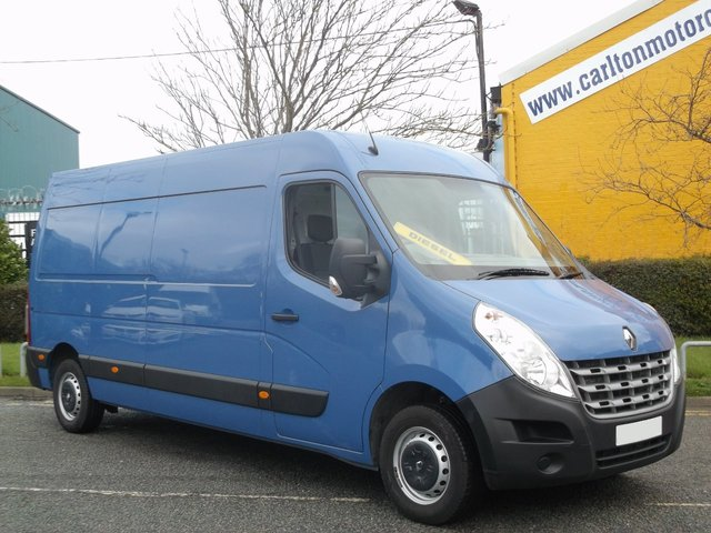2014 14 RENAULT MASTER Master LM35 2.3DCi 125 L3H2 Eco 2 [ Air-Con + Sat-Nav ] LWB M/R Free UK Delivery