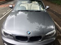 USED 2012 12 BMW 1 SERIES 2.0 120D M SPORT 2d AUTO 175 BHP Convertible, Boston Leather, 18Inch Alloys