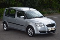2008 SKODA ROOMSTER 1.6 2 16V 5d 105 BHP 5 SEATER PETROL AUTOMATIC CAR  £2690.00