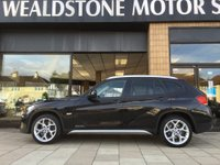 USED 2011 11 BMW X1 2.0 xDrive20d SE 5dr [PRO NAV, HEATED BLACK LEATHER, X LINE] HUGE SPEC - 4X4