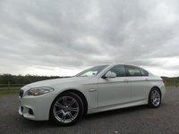 2012 BMW 5 SERIES 2.0 520D M SPORT 4d AUTO 181 BHP £17000.00