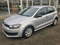 2012 VOLKSWAGEN POLO 1.2 S A/C 5DR HATCHBACK 60 BHP £5490.00