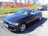 2007 BMW 3 SERIES 2.0 320I SE 2d AUTO 160BHP CONVERTIBLE £8790.00