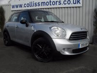 2011 MINI COUNTRYMAN 1.6 COOPER D ALL4 5d 112 BHP £11299.00