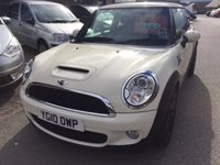 2010 MINI HATCH COOPER 1.6 COOPER S 3d 184 BHP £8695.00