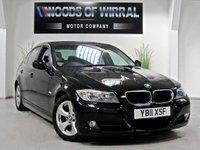 2011 BMW 3 SERIES 2.0 320D EFFICIENTDYNAMICS 4d 161 BHP £8980.00