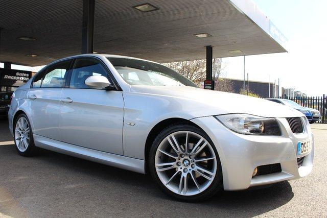 2007 57 BMW 3 SERIES 2.5 325I M SPORT 4d AUTO 215 BHP