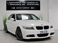2011 BMW 3 SERIES 2.0 320D M SPORT 4d AUTO 181 BHP £13690.00