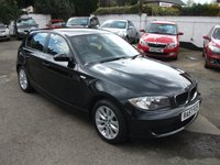 2007 BMW 1 SERIES 1.6 116I ES 5 DR HATCH £5795.00