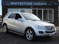 2011 MERCEDES-BENZ M CLASS 3.0 ML350 CDI BLUEEFFICIENCY SPORT 5d AUTO 231 BHP £18745.00
