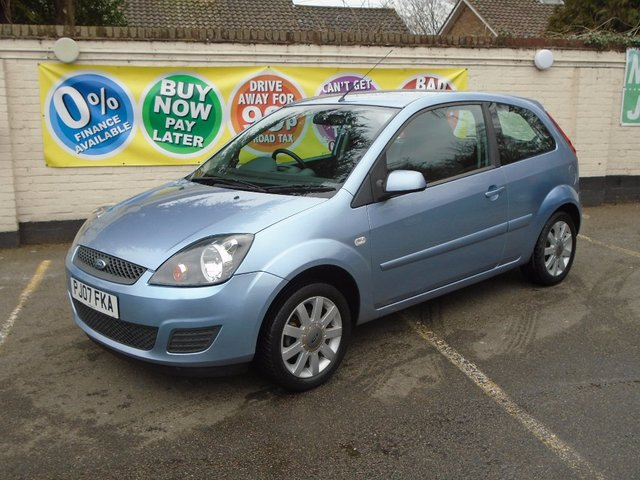 2007 07 FORD FIESTA 1.25 SILVER LIMITED 3d 75 BHP