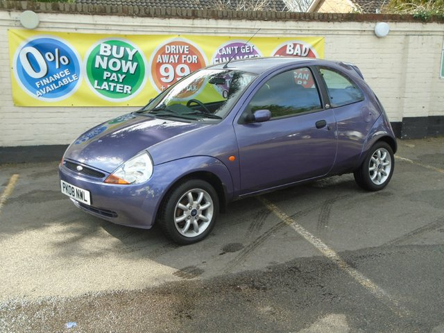2008 08 FORD KA 1.3 ZETEC CLIMATE CLOTH 3d 69 BHP