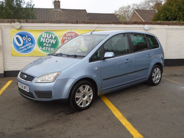 2006 56 FORD C-MAX 1.6 16V C-MAX STYLE 5d 113 BHP