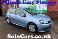 2011 VOLKSWAGEN GOLF 1.6 S TDI BLUEMOTION 5d 103 BHP £6499.00