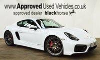 2014 PORSCHE CAYMAN 3.4 GTS 2d 340 BHP £51950.00