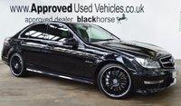 2013 MERCEDES-BENZ C CLASS 6.2 C63 AMG 4d AUTO 457 BHP £SOLD