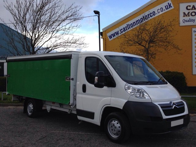 2011 61 CITROEN RELAY 2.2HDi Curtain side 14.4ft Body T/SLD Rare model Delivery T.B.A