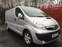 2012 VAUXHALL VIVARO 2.0 2900 CDTI SPORTIVE LWB 115 BHP AIR CON ELECTRIC PACK SERVICE HISTORY £7495.00
