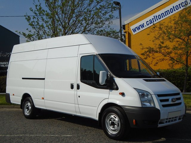 2010 59 FORD TRANSIT 115 T350L High Roof Jumbo Twin Side Door Internal ramp Low Mileage Free UK Delivery SRW TWIN SLD STUNNING
