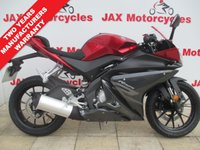 USED 2018 YAMAHA YZF-R125 ABS.  New 'bike.  Two years manufacturers warranty.  One years RAC cover. Delivery anywhere in the UK - £130.80