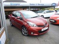 2011 TOYOTA YARIS 1.3 VVT-I SR 5d 98 BHP £7499.00