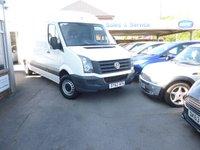2012 VOLKSWAGEN CRAFTER 2.0 CR35 TDI 1d 107 BHP £10999.00