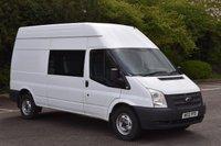 2013 FORD TRANSIT 2.2 350 H/R 5d 100 BHP LWB 8 SEATER COMBI DIESEL MANUAL VAN £7490.00