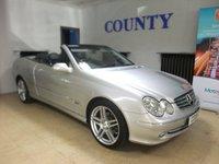 2003 MERCEDES-BENZ CLK 3.2 CLK320 ELEGANCE 2d AUTO 218 BHP £SOLD