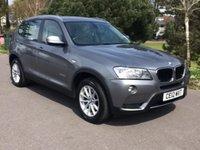 2012 BMW X3 2.0 XDRIVE20D SE 5d AUTO 181 BHP £17850.00