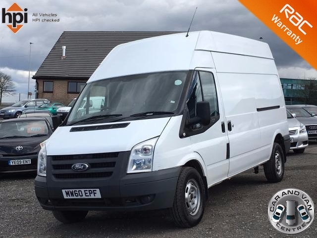 2011 60 FORD TRANSIT 2.4 350 LWB H/R ONE OWNER SERVICE HIST