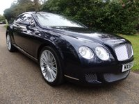 2008 BENTLEY CONTINENTAL 6.0 GT SPEED 2d AUTO 603 BHP SOLD