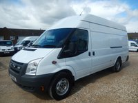 2011 FORD TRANSIT T350 EXTRA LWB HI TOP JUMBO 72628 MILES 6 SPEED £8495.00