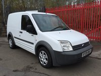 2009 FORD TRANSIT CONNECT NO VAT  DIESEL 1.8 T200 L SWB 75 TDCI CD PLAYER  £2495.00