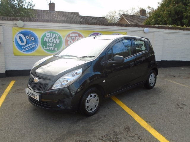 2012 61 CHEVROLET SPARK 1.0 PLUS 5d 67 BHP SORRY NOW SOLD