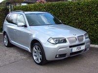 2006 BMW X3 3.0 SD M SPORT 5d 282 BHP £7975.00