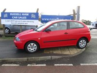 2004 SEAT IBIZA 1.2 12V 3d 63 BHP £1995.00