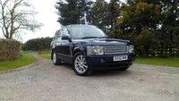 2002 LAND ROVER RANGE ROVER 2.9 TD6 HSE 5d AUTO 175 BHP £6490.00
