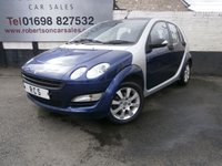 2006 SMART FORFOUR 1.3 COOLSTYLE 5dr £2480.00