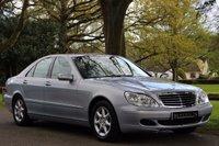 2003 MERCEDES-BENZ S CLASS 3.2 S320 CDI 4d AUTO 204 BHP £6990.00
