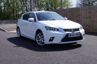 2014 LEXUS CT 1.8 200H ADVANCE 5d AUTO 134 BHP £15000.00