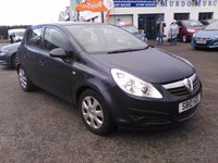 2010 VAUXHALL CORSA 1.4 EXCLUSIV A/C 5d AUTO 98 BHP £3990.00