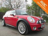 2007 MINI HATCH ONE 1.4 ONE 3d 94 BHP £4250.00
