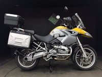 2004 BMW R1200 GS 54, 24k, FULL LUGGAGE. FSH. ABS. H GRIPS. ENG BARS. VGC £4995.00