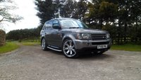 USED 2006 56 LAND ROVER RANGE ROVER SPORT 2.7 TDV6 SPORT HSE 5d AUTO 188 BHP 4 NEW TYRES