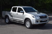2013 TOYOTA HI-LUX 3.0 INVINCIBLE 4X4 D-4D DCB 4d AUTO 169 BHP £13995.00