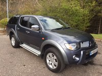 2006 MITSUBISHI L200 2.5 4WD WARRIOR NO VAT PICK UP 135 BHP £7550.00