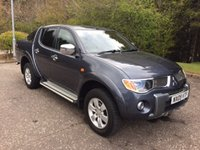 2009 MITSUBISHI L200 2.5 RAGING BULL 4WD NO VAT 4DR PICK UP AUTO 135 BHP £9950.00