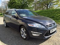 2013 FORD MONDEO 2.0 TITANIUM X BUSINESS EDITION TDCI 5d AUTO 161 BHP MIDNIGHT SKY, CHARCOAL LEATHER £12990.00