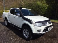2011 MITSUBISHI L200 2.5 DI-D 4X4 WARRIOR NO VAT PICK UP  AUTO 175 BHP £12450.00