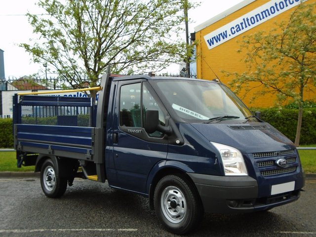 2012 62 FORD TRANSIT T300s Dropside / Pickup+Tail Lift Alloy Body L/Miles Ex lease Free UK Delivery SRW